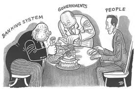 Government serves business at the expense of the people